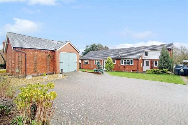 Thumbnail Detached bungalow for sale in Wern, Llanymynech
