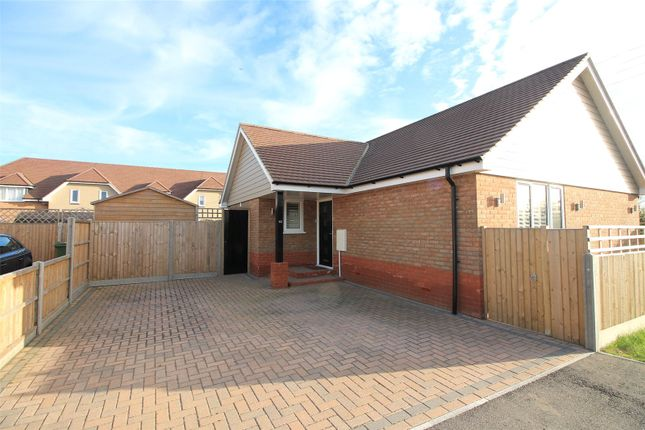 Thumbnail Detached bungalow for sale in Danes Drive, Leysdown-On-Sea, Sheerness, Kent