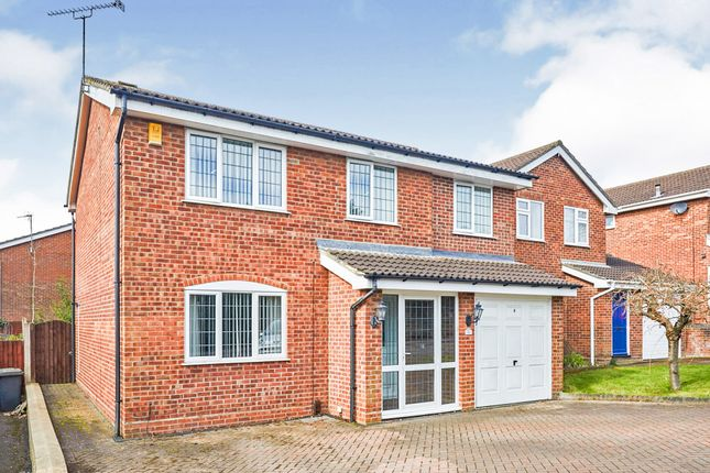 Thumbnail Detached house for sale in Hindscarth Crescent, Mickleover, Derby