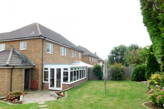 Thumbnail Semi-detached house for sale in Normansal Close, Seaford