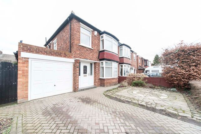 Thumbnail Semi-detached house for sale in Upsall Grove, Stockton-On-Tees