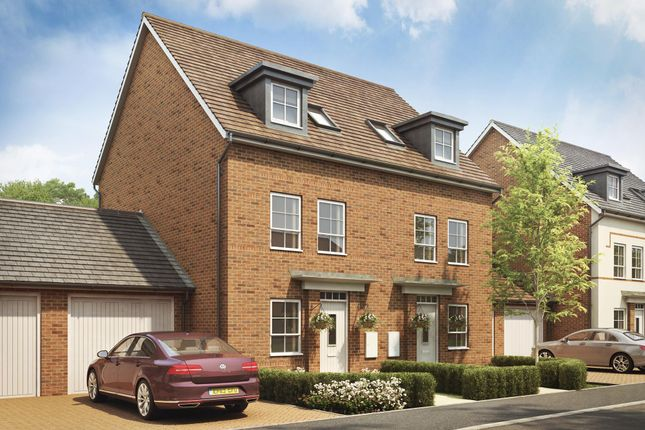 """Thumbnail Terraced house for sale in """"Padstow"""" at Lady Margaret Road, Ifield, Crawley"""