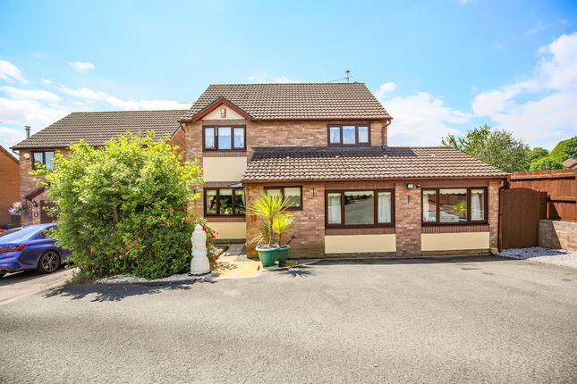 Thumbnail Detached house for sale in Kier Hardie Crescent, Newport