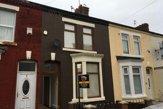 Thumbnail Terraced house to rent in Arundel Street, Anfield, Liverpool