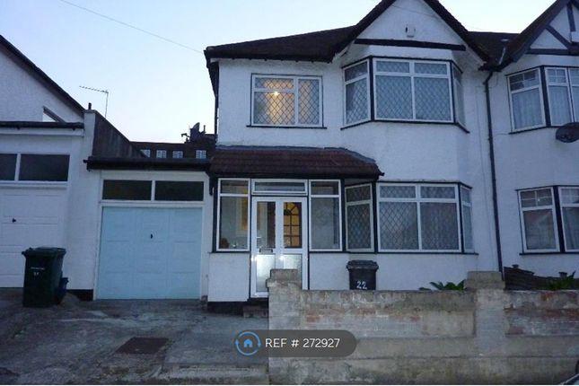 Thumbnail Semi-detached house to rent in Aprey Gardens, Hendon