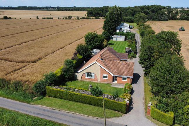 Thumbnail Detached bungalow for sale in Waithe Lane, Waithe, Grimsby