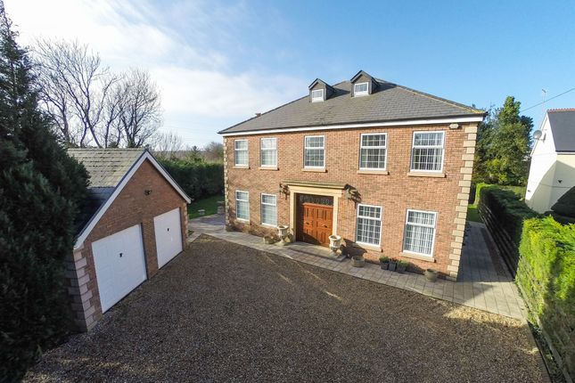 Thumbnail Detached house for sale in Ewenny Road, Ewenny, Bridgend