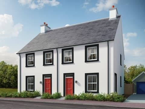 Thumbnail Semi-detached house for sale in Dalcross, Inverness IV2, Inverness,