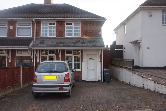 Thumbnail Semi-detached house for sale in Dormington Road, Kingstanding, Birmingham