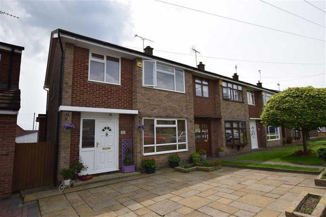Thumbnail End terrace house for sale in Gordon Road, Corringham, Essex