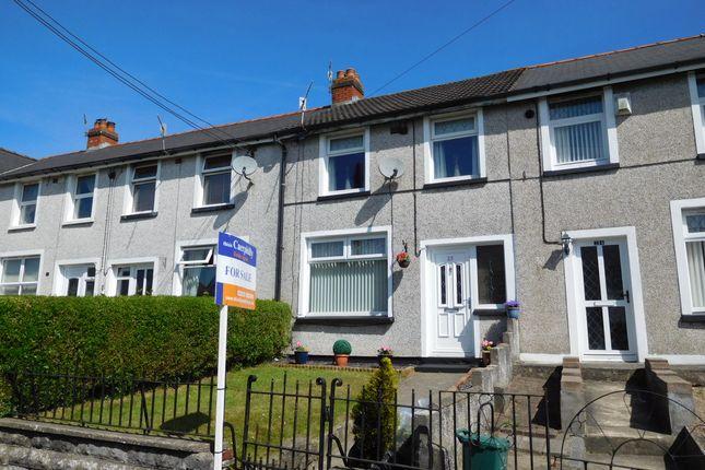 Thumbnail Terraced house for sale in Pendarren Street, Penpedairheol