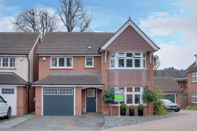 Thumbnail Detached house for sale in Barnard Close, Rednal, Birmingham