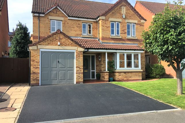 Thumbnail Detached house for sale in Sandringham Drive, Heanor, Derbyshire
