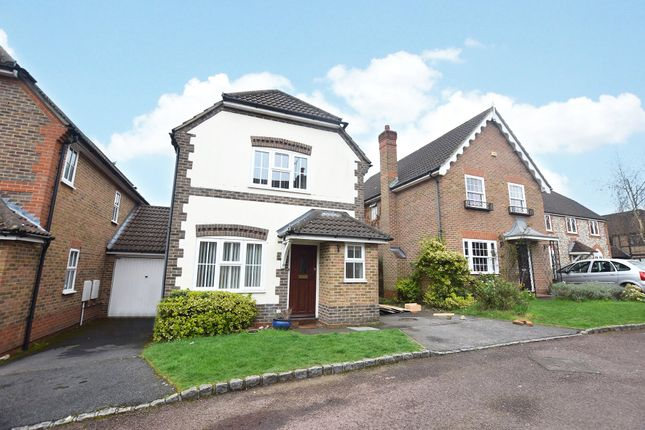 Thumbnail Detached house to rent in Saturn Croft, Winkfield Row, Bracknell, Berkshire