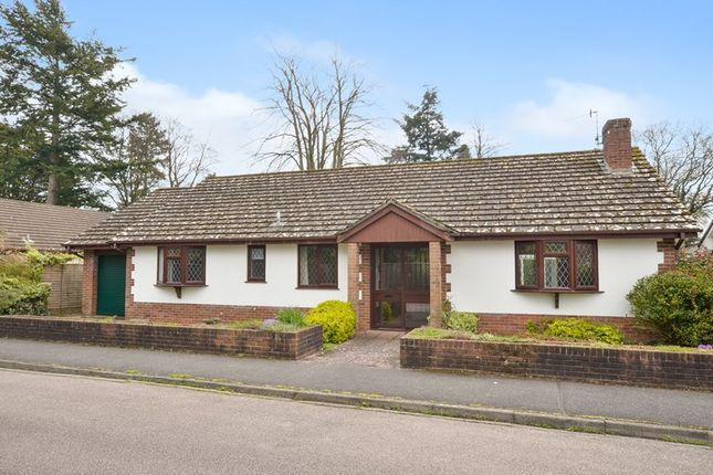 Thumbnail Bungalow for sale in Denewood Copse, West Moors, Ferndown, Dorset