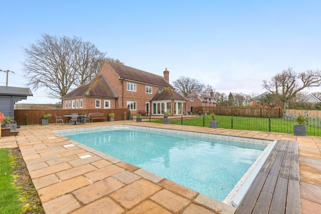 Thumbnail Detached house for sale in Enborne Street, Enborne, Newbury, Berkshire
