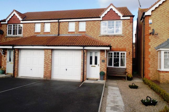 Thumbnail Semi-detached house for sale in Cottingham Grove, Thornley