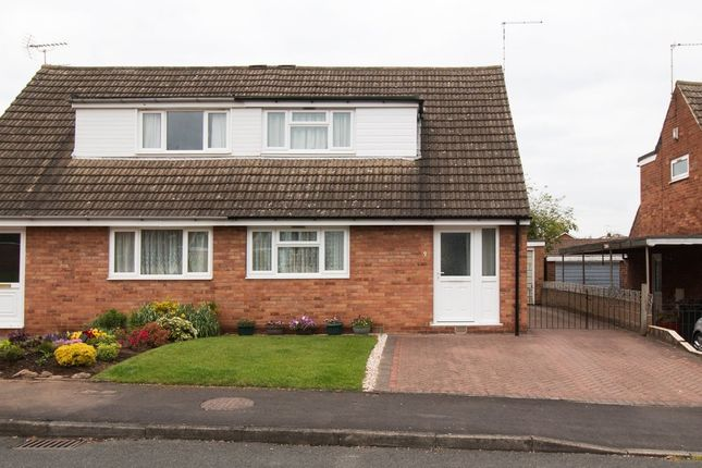 Thumbnail Semi-detached house to rent in Bedford Close, Kegworth, Derby