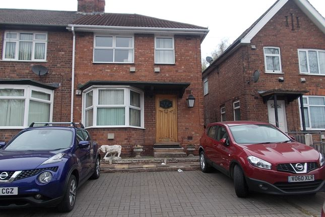 Thumbnail End terrace house for sale in Tyburn Road, Erdington, Birmingham