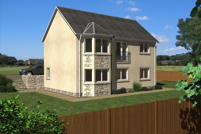 Thumbnail Detached house for sale in The Spylaw, East Broomlands, Kelso