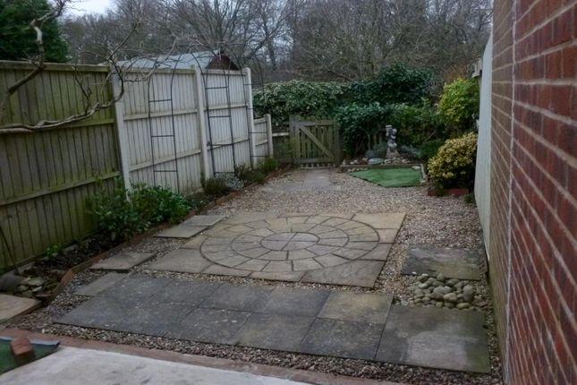Rear Garden of Delta Close, Christchurch BH23