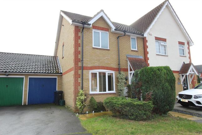 Thumbnail Semi-detached house for sale in Victoria Gate, Church Langley, Harlow, Essex