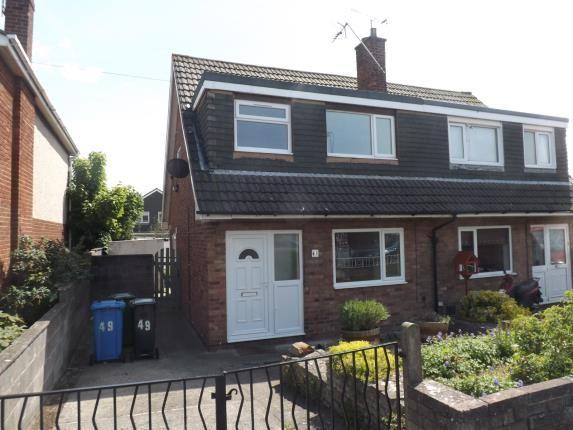 Thumbnail Semi-detached house for sale in Grosvenor Road, Prestatyn, Denbighshire, North Wales
