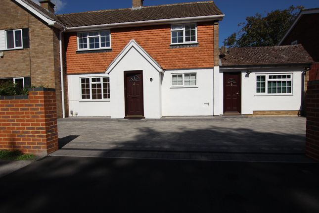 Thumbnail Terraced house to rent in Beechwood Avenue, Woodley, Reading