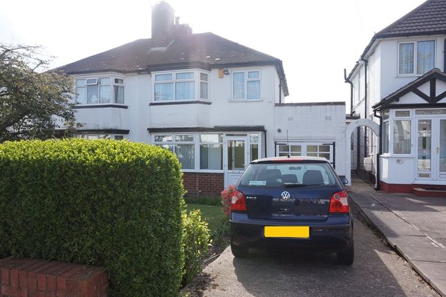 Thumbnail Semi-detached house for sale in Carter Road, Great Barr, Birmingham