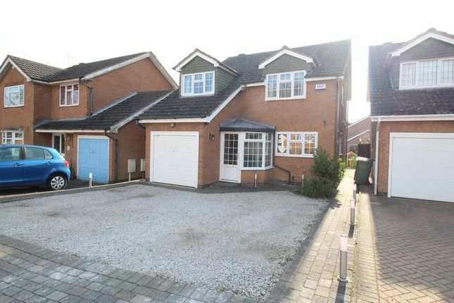 Thumbnail Detached house for sale in The Limes, Bedworth