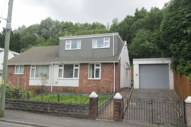 Thumbnail Semi-detached bungalow for sale in Anns Close, Merthyr Tydfil