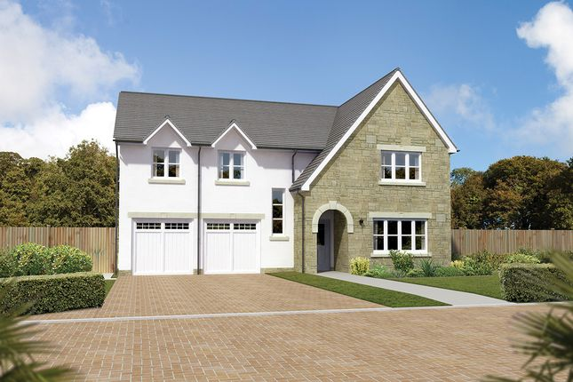 "Thumbnail Detached house for sale in ""Southbrook"" at Letham Views, 9 Holme Avenue, Haddington"