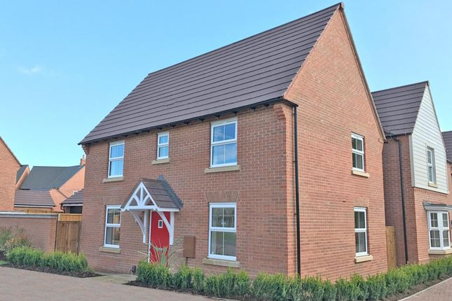 "Thumbnail Semi-detached house for sale in ""Hadley"" at Carters Lane, Kiln Farm, Milton Keynes"