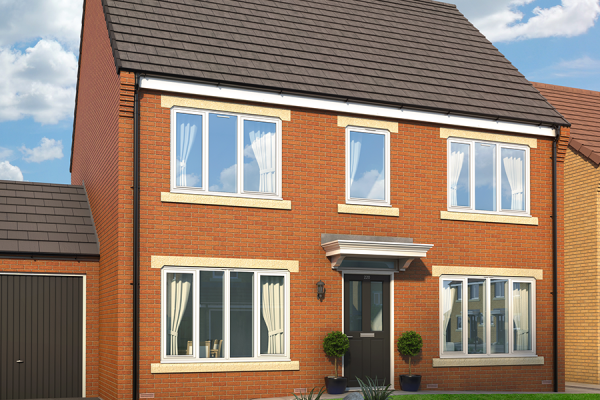 "Thumbnail Property for sale in ""The Layton At Metropolitan"" at Berrington Drive, Westerhope, Newcastle Upon Tyne"