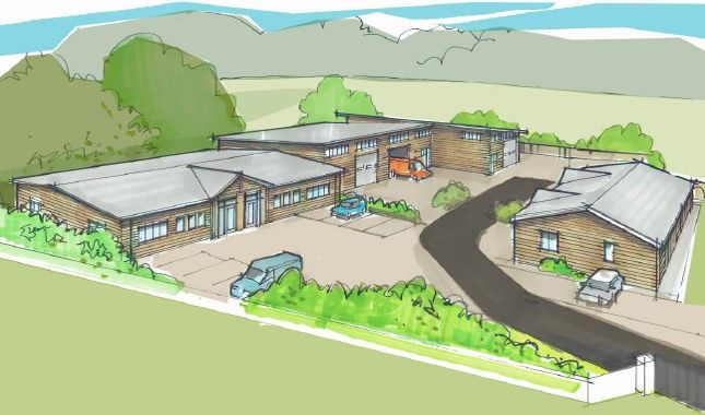 Thumbnail Business park for sale in Winchester Road, Upham