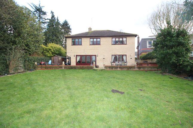 Thumbnail Detached house for sale in Oundle Road, Orton Longueville, Peterborough