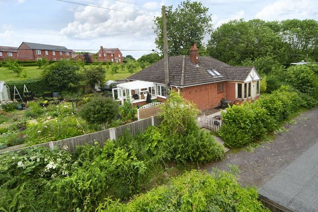 Thumbnail Detached bungalow for sale in Holywell Lane, Lightmoor, Telford, Shropshire.
