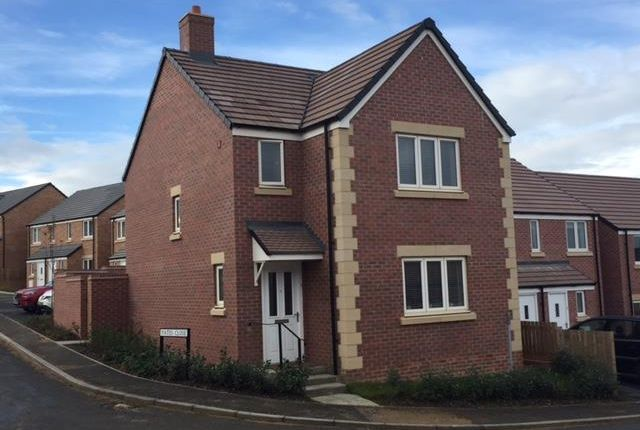Thumbnail Detached house to rent in Fellows Close, Weldon, Corby