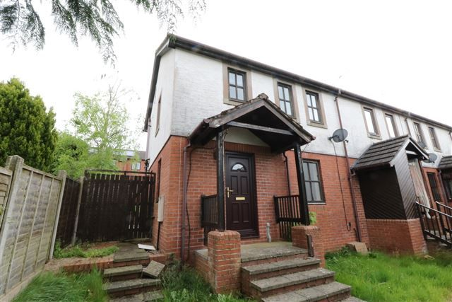 Thumbnail End terrace house for sale in Beckside Gardens, Brampton, Cumbria