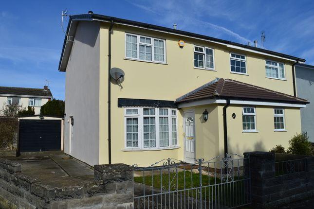 Thumbnail Semi-detached house for sale in Regency Close, Llantwit Major