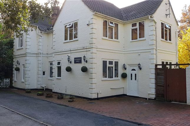 Thumbnail Detached house for sale in London Road, Windlesham, Surrey