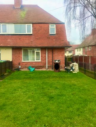 Thumbnail Semi-detached house to rent in Shepton Crescent, Nottingham