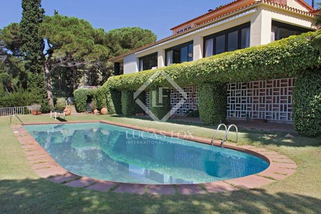 Thumbnail Villa for sale in Spain, Barcelona North Coast (Maresme), Sant Andreu De Llavaneres, Lfs7050