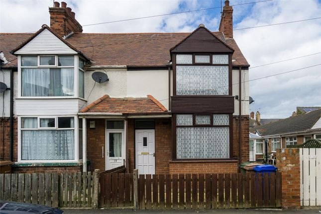 Thumbnail End terrace house to rent in Princes Avenue, Withernsea