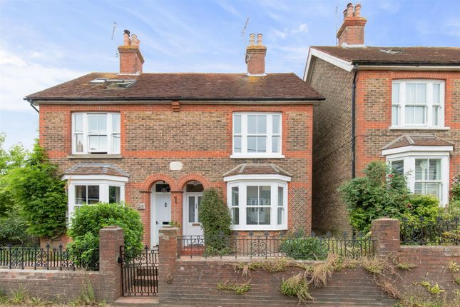 Thumbnail Semi-detached house for sale in College Lane, Hurstpierpoint, Hassocks