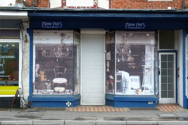 Thumbnail Commercial property to let in Shop Unit, Christchurch Road, Bournemouth, Dorset, United Kingdom