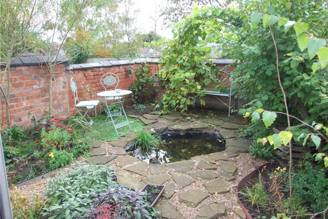 Garden of Stanley Street, Derby DE22