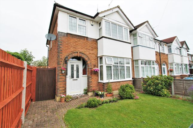 Thumbnail End terrace house for sale in Heathcote Avenue, Hatfield