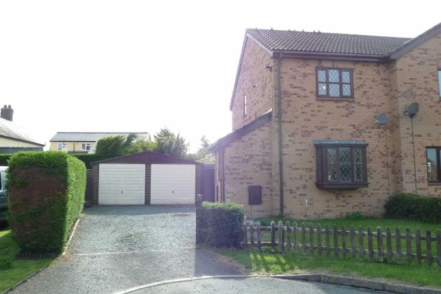 Thumbnail Semi-detached house to rent in Oak Close, Weston Rhyn, Oswestry
