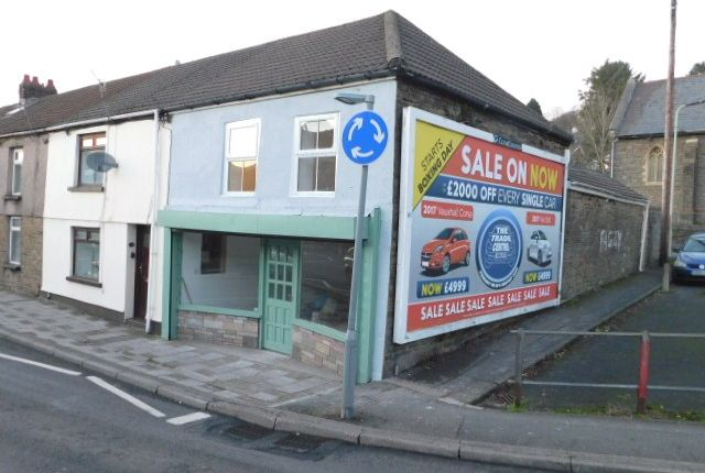 Thumbnail Retail premises for sale in Gelligaled Road, Ystrad